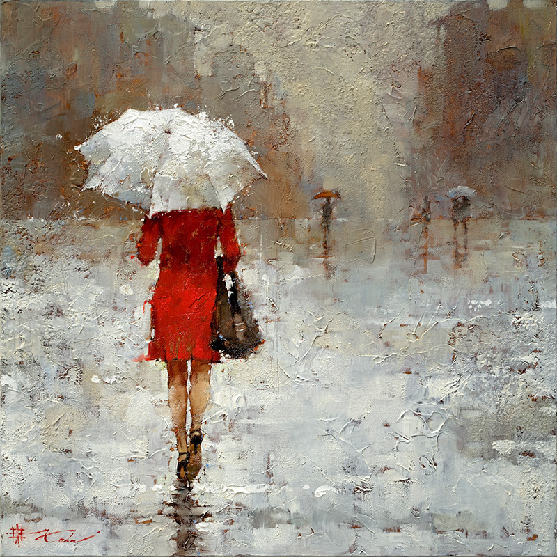 Andre kohn the red book for Painting for sale by artist
