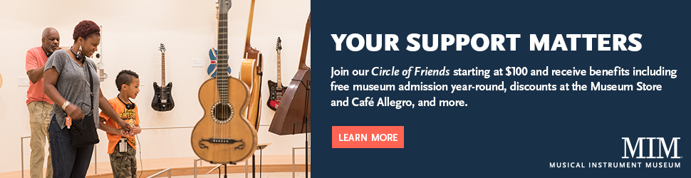 Visit Musical Instrument Museum (billboard)