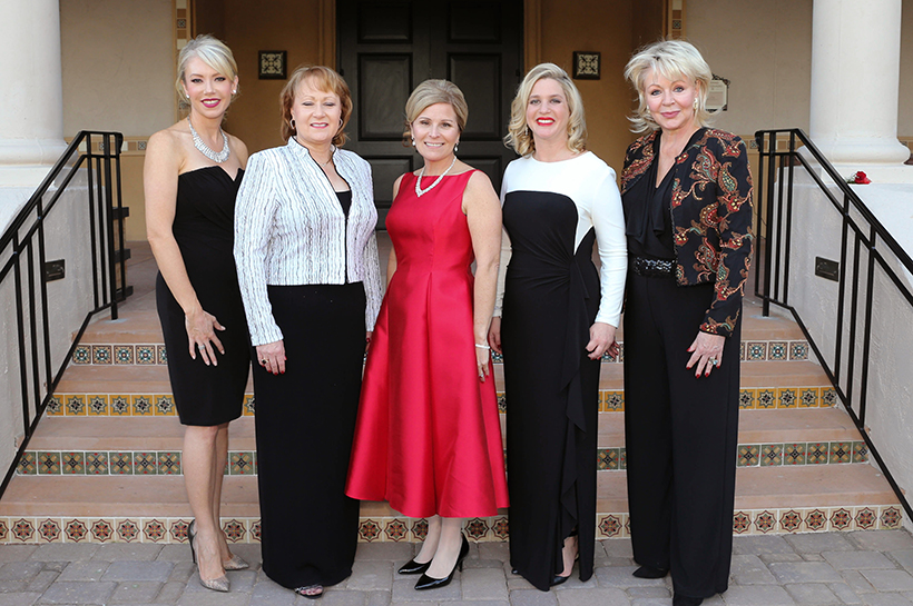 Tracy Bame, Jan Blaser Upchurch, Regina Edwards, Ashley Bridwell, Dana Campbell Saylor crop