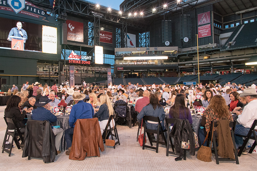 PHOENIX, ARIZONA - MARCH 31: The Arizona Diamondbacks held the 10th annual Evening on the Diamond on Thursday, March 31, 2016 at Chase Field in Phoenix, Arizona. (Photo by Rachael Keating/Arizona Diamondbacks)
