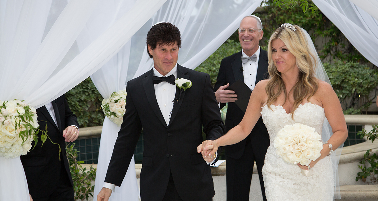 Lisa Andrew and Blair Portigal Marry in Beverly Hills
