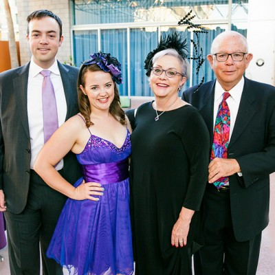 Black & Purple Gala Nets $60K