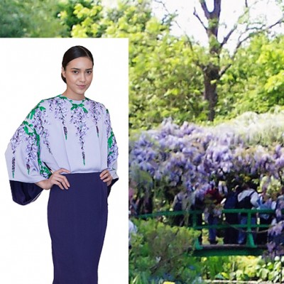 Zang Toi Presents Giverny-Inspired Collection at Fresh Start Gala Brunch