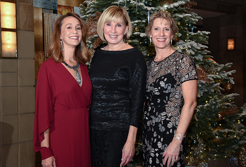 Ryan House Executive Director Alyssa Crockett, Ryan House Board Chair Leslie Propstra, RH Board Member and White Christmas Co-Chairman Ginnie Schmitt crop