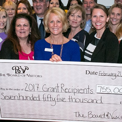 The Board of Visitors Gives $755K to Local Charities