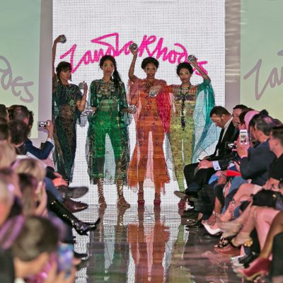 Zandra Rhodes Shines at Scottsdale Fashion Week