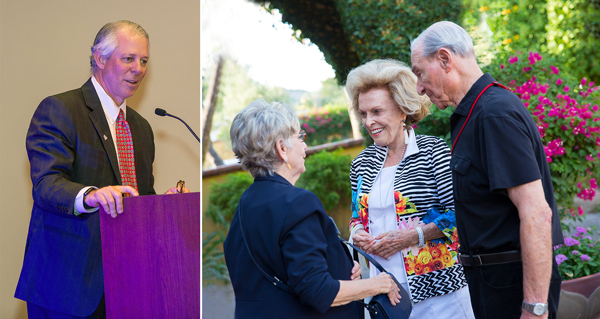 New UA President Connects with Valley Philanthropists