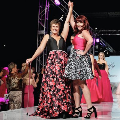 Breast Cancer Survivors Take the Runway