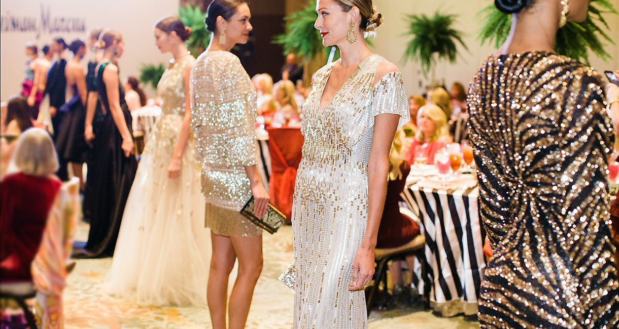 Heart Ball Addressing Luncheon Features Couture Fashions