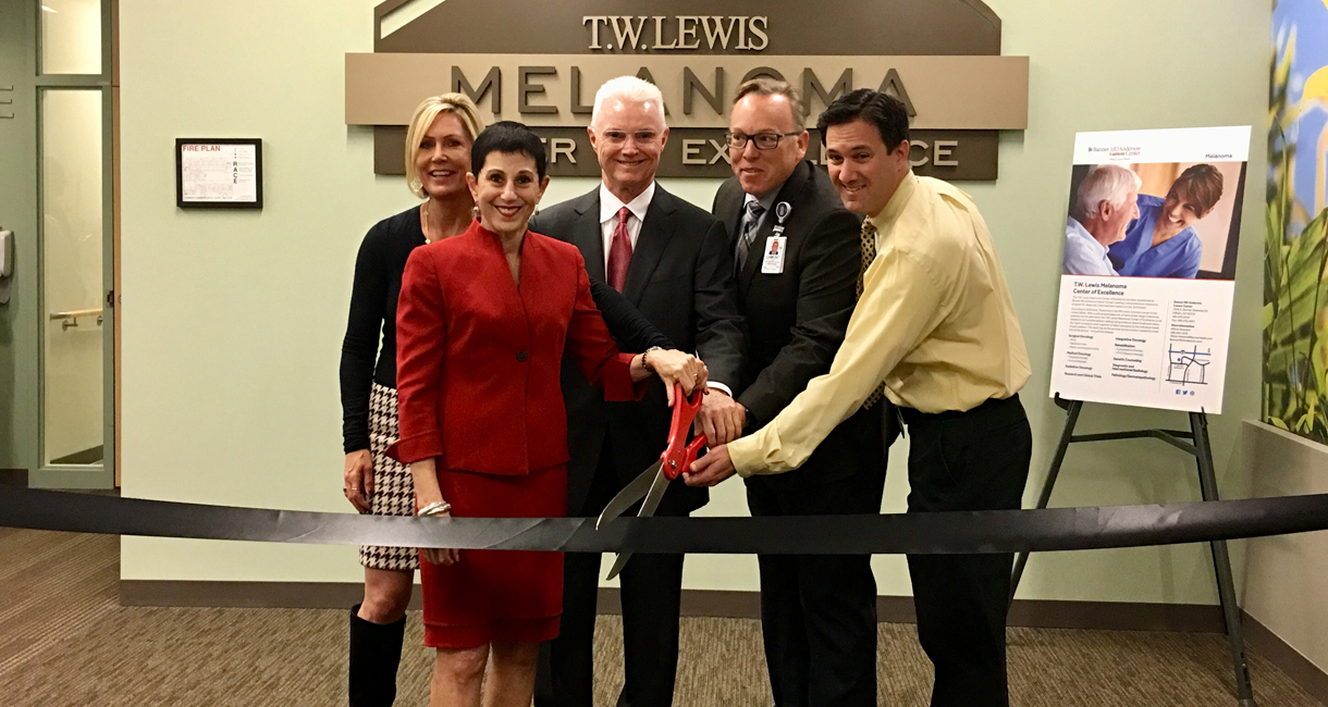 T.W. Lewis Melanoma Center of Excellence Opens