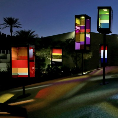 Colorful Art Fills Scottsdale Fountains