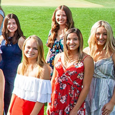 Board of Visitors Announces 2019 Flower Girls