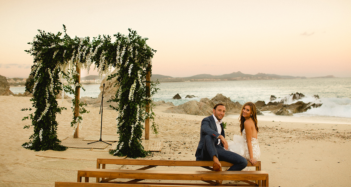 A Tropical Wedding for Elizabeth Anne Sarvas and Kane Samuel Swerner