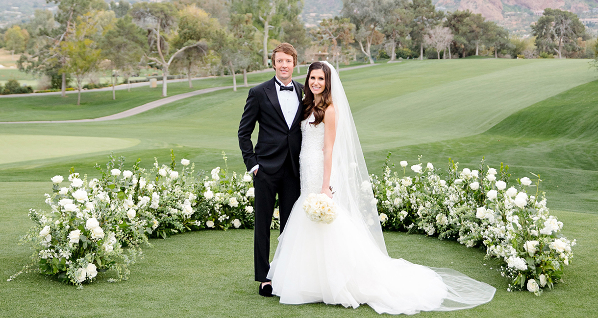 Lauren Anderson and Mike Gilbert Celebrate Nuptials