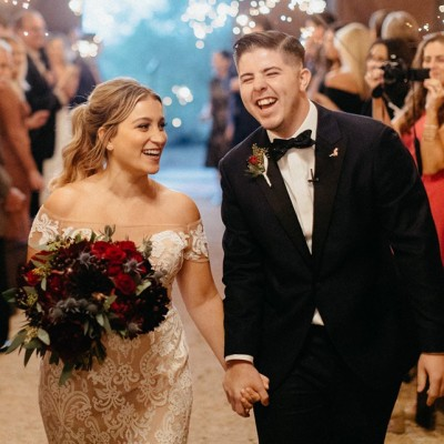 Brooke Erin Medansky and Dylan Thomas Figlo Marry in Desert Setting