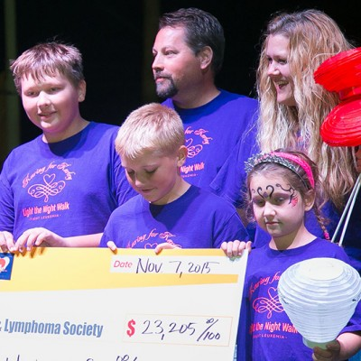 Leukemia and Lymphoma Society Raises $700K at Light the Night Walk