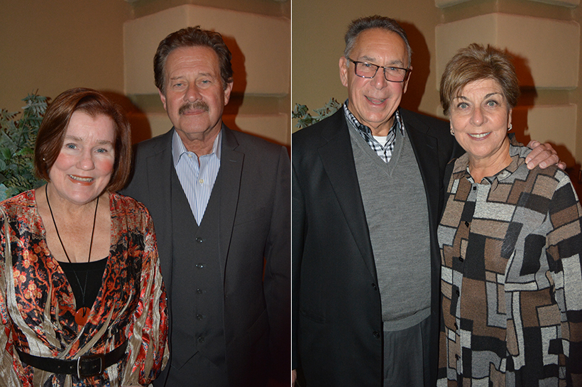 Bill Daniels, Ellen Carnahan; Michael and Enid Seiden