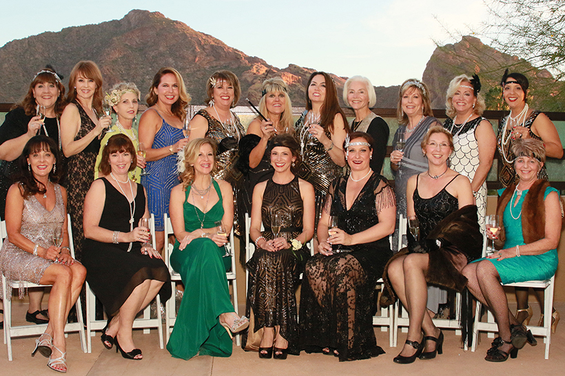 By the end of the evening, there was plenty to toast as guests raised $450,000 for Child Crisis Arizona. DAVID PHARES - BLACK DOG PHOTOGRAPHY
