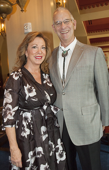 Rebecca Ailes-Fine and Peter Fine, honorary chairs