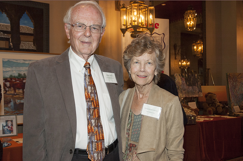 Charles Emerson and Wilma Basnett Emerson (Event Chair) crop