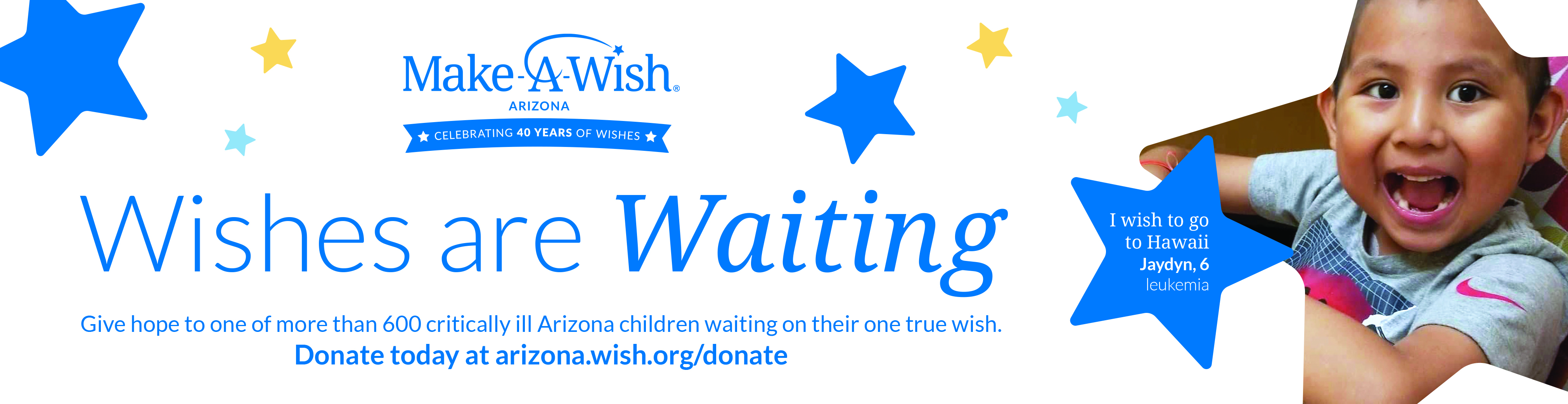 Visit Make-A-Wish Arizona billboard