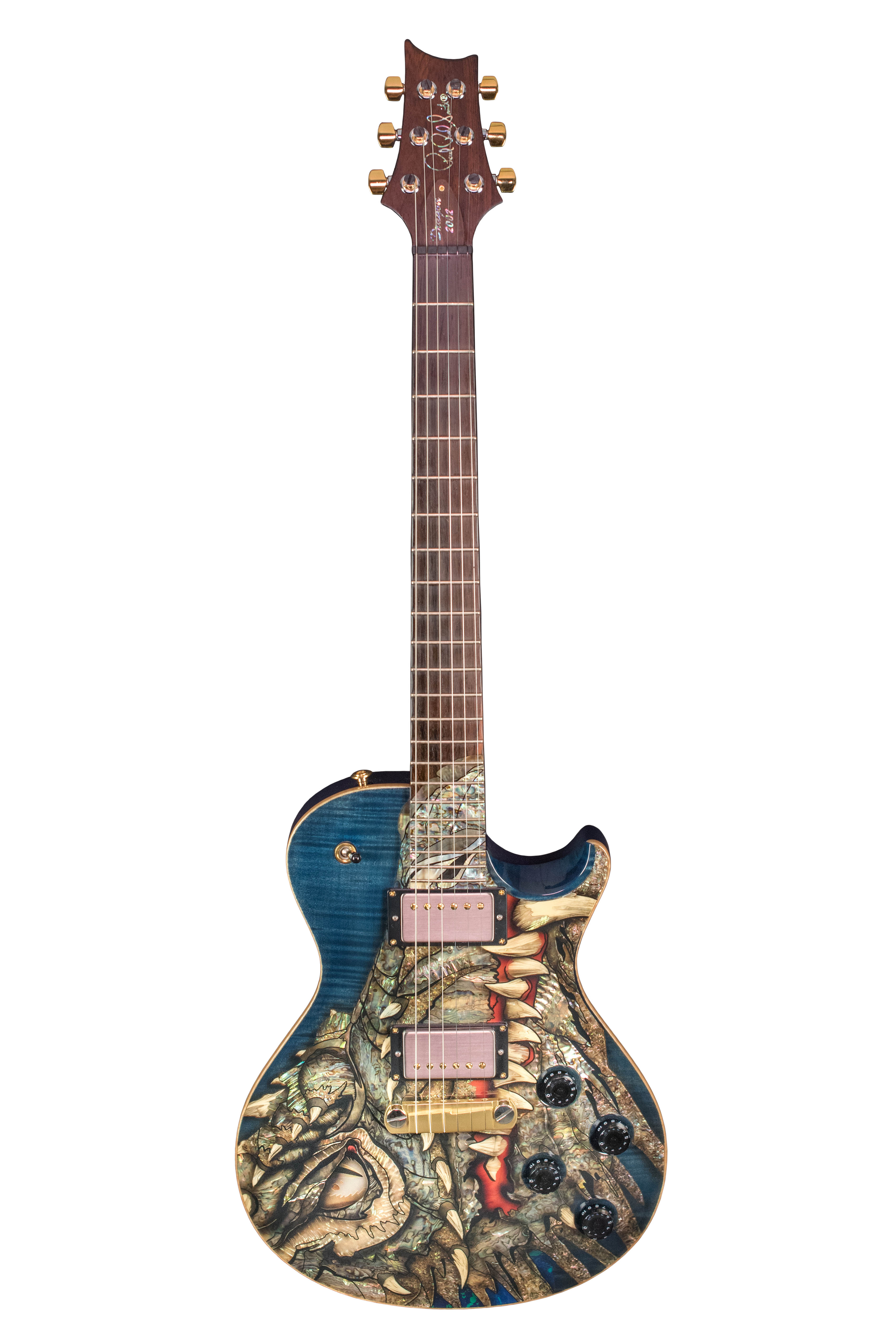 Paul Reed Smith Dragon Guitar 2002 content