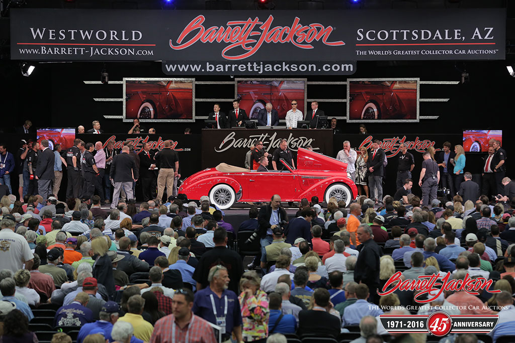 BarrettJackson Collector Car Auctions The Red Book - Westworld scottsdale car show