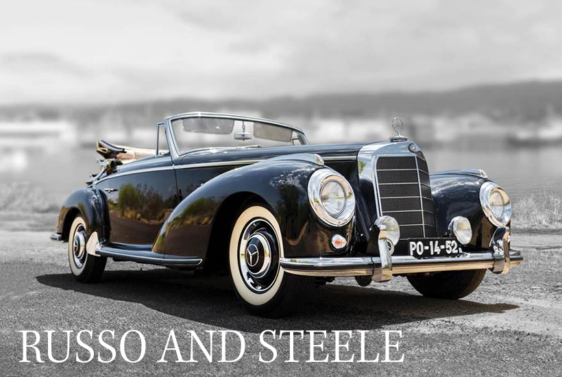 1954 Mercedes 300 S Cabriolet A Convertible. PHOTO: RUSSO AND STEELE