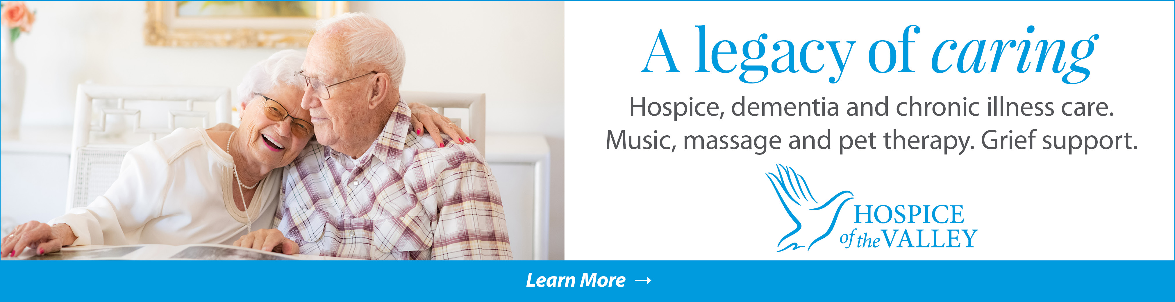 Visit Hospice of the Valley billboard