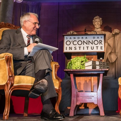 Dinner With Lincoln Inspires Guests with Historical Insight
