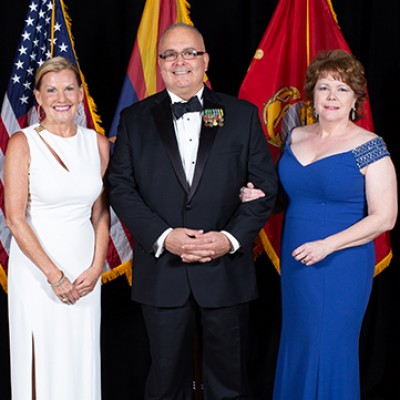 Marine Corps Scholarship Dinner Honors the Late Bruce Halle