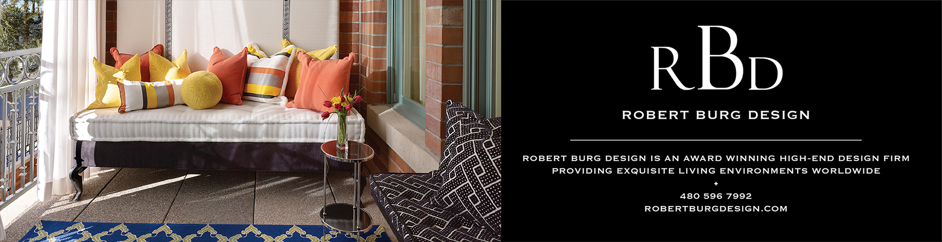 Visit Robert Burg Design billboard