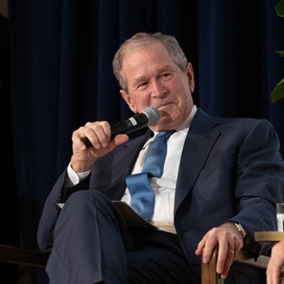 Former President Bush Opens 'Portraits of Courage'