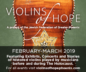 Visit Violins of Hope medium rectangle