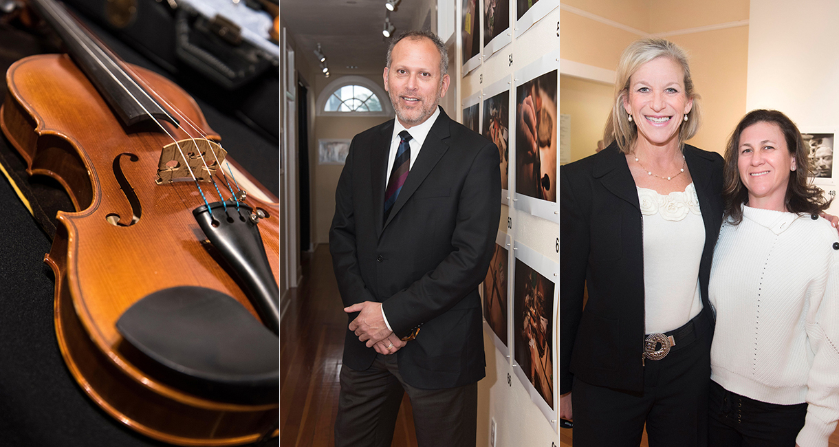 Violins of Hope Photography Exhibit VIP Reception