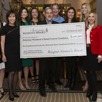 Funds from 40th Authors Luncheon Distributed